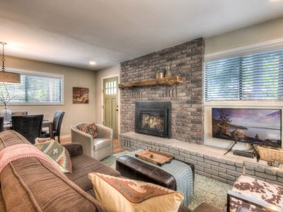 Photo for Newly Remodeled Tahoe Cabin: 5 Minutes to Lake