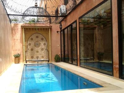 Photo for Superb Riad style villa located in the district of Daoudiate in Marrakech, only