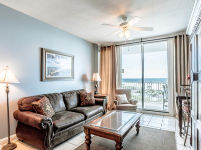 Photo for Beachfront Gulf Shores Condo ~ 2 Pools, Indoor Pool, Hot Tubs, Steam Room!