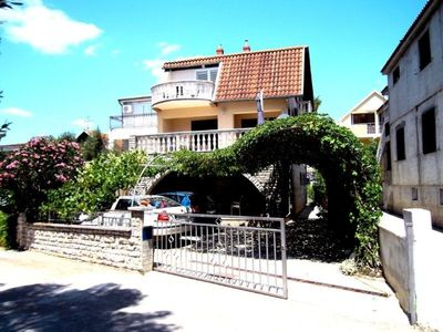 Photo for Nice house - quiet location - only 2 apartments - sea view - approx. 30 m to the beach
