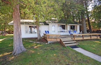 Photo for Charming Cottage w/100 ft of Big Glen Lake Frontage! 2BR/1BA, Acc: 6!