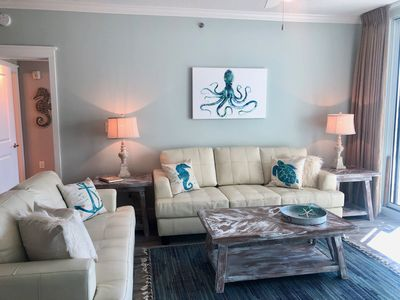Photo for Waterscape A221 ~ 2BR + Bunkroom ~ Remodeled in 2019 ~ Beach Service!