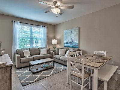 Photo for 30A Getaway! Spacious 4 Bed/3 Bath Condo with Pool/Fitness! Walk to Beach!
