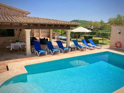 Photo for Fabulous Villa in easy walking of Pollensa, very well equipped