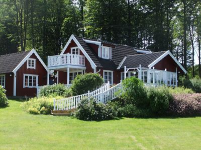 Urgemütliches house with sauna and a wonderful view in absolute secluded location