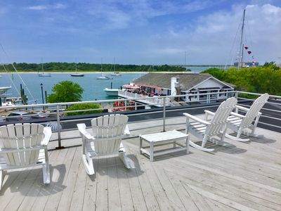 Photo for Rooftop Condo With Wonderful Harbor Views In The Heart Of Downtown Beaufort, NC