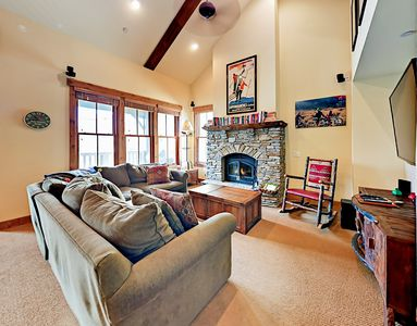 Photo for Luxe 3BR Townhouse w/ Hot Tub & Mountain Views - 5 Min to Ski Lifts & Dining