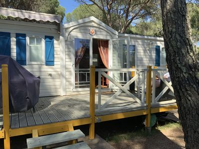 Photo for Air-conditioned mobile home 3 bedrooms Oasis Village 5 *