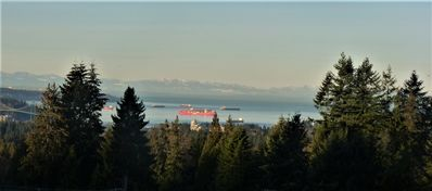 Photo for Ocean/city views; near downtown Vancouver, skiing, cruise ships; treehouse; deck