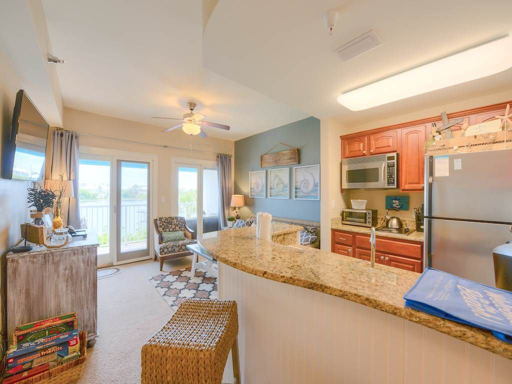 """Sol Mate"" - Carillon Beach Inn B210* newly refurbished lakefront one bedroom"
