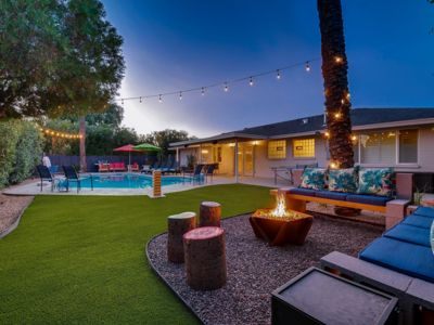 Photo for Old Town Luxury Mid Century Oasis w/pool, Sleeps 13!