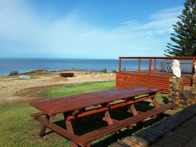 Photo for Absolute ocean front beach house at North Beach, Wallaroo
