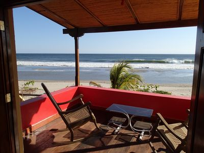 Photo for Spectacular Ocean Front Beach House In Playa Guasacate