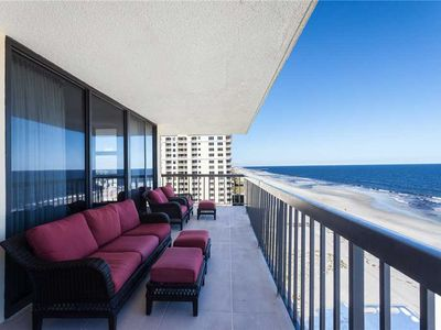 Photo for Jacksonville Beach Waterford 10A, 3 Bedrooms, Beach Front, Elevator, Pool