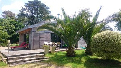 Photo for Large and bright wooden house for 6 to 8 people