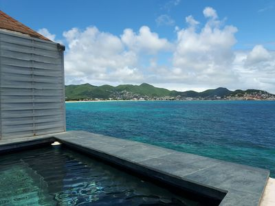 FIG Paradis SXM, ocean front personal pool and jacuzzi