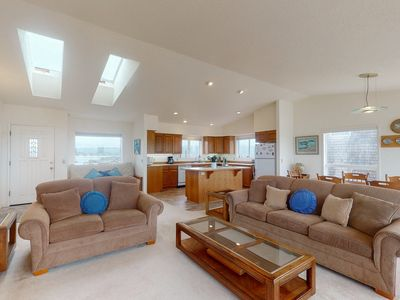 Photo for Oceanfront home right on the sand w/ deck & shared pool