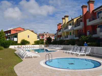 Photo for Holiday Village Le Ginestre Apartments with pool in Cavallino Le Ginestre Adriatic