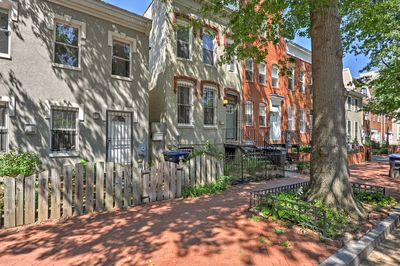 Experience the many attractions of Washington D.C. from this rental home.