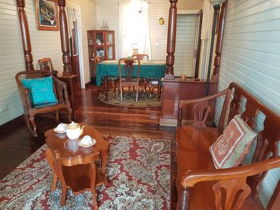 Photo for Elegant and Old World Charm Belizean 2BR Colonial-Style Downtown Vacation Rental