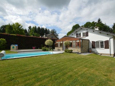 Photo for Beautiful villa with pool and lovely garden in the Herve country, all-in prices!