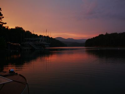 Photo for Beautiful Hideaway located on Lake Hiwassee: Private dock for water activities
