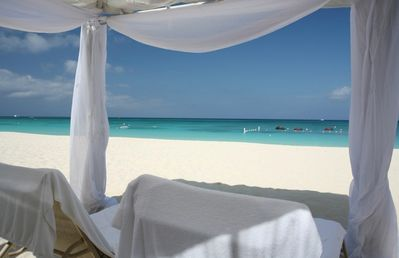 White sands, crystal clear water & white sands, your LUXURY PRIVATE VILLA awaits