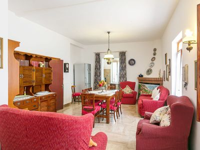 Photo for Holiday Home with Wi-Fi, Air Conditioning, Garden, Terrace & Sea View; Parking Available, Pets Allowed