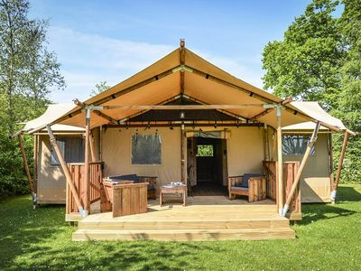 Photo for Camping Pré Fixe **** - Luxury Lodge 3 Rooms 5 People