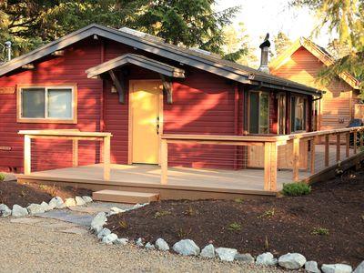Photo for Coziest rental in Manzanita!  The bunkhouse includes 2 triple bunks!