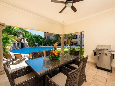Photo for Sunrise 3 BR Condo, directly across the street from Tamarindo Beach! (SR1)