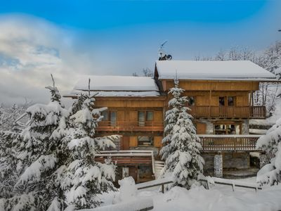Photo for 4BR Chalet Vacation Rental in Meribel, Rhone-Alpes