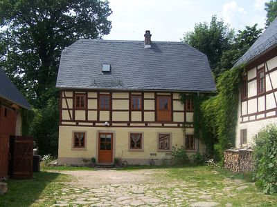 Photo for family-friendly holiday in the half-timbered house in the countryside