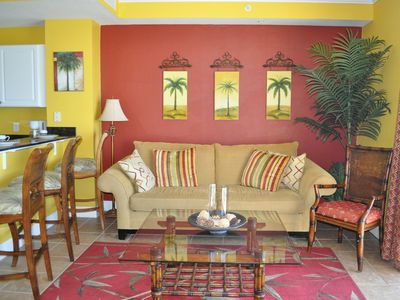 Photo for Tidewater 1BR 2bath Gulf Front Condo on 12th Floor-Walking distance to Pier Park
