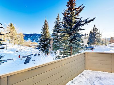 Balcony - Take in views of Vail Mountain from your open-air balcony.