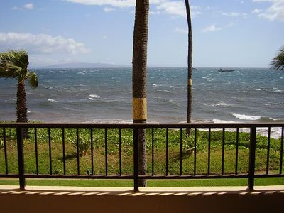 Photo for Up to 25% OFF ! Oceanfront Views at Sugar Beach Resort 1 BR Condo #221