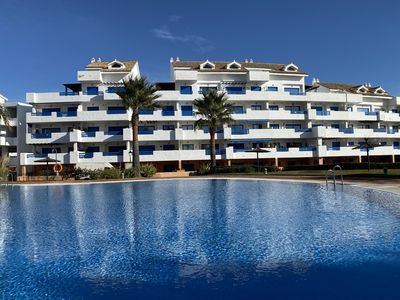 Photo for R43  A Pet Friendly Apartment with Magnificent Views  in Duquesa Suites!