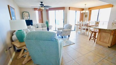 Photo for DIRECT GULF FRONT UNIT, WEST END VIEWS, ROOMY UPDATED CONDO, GREAT AMENITIES FOR THE FAMILY