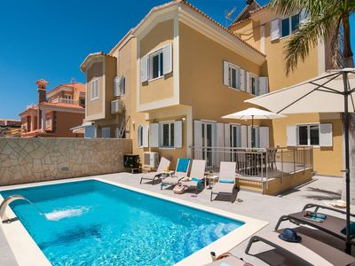Photo for VILLA CURIE FOR 8 GUESTS WITH PRIVATE POOL IN SONNENLAND  GRAN CANARIA