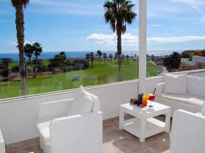 Photo for Amarilla Golf Villas - Unit 6 luxury 2 bed penthouse - stunning views