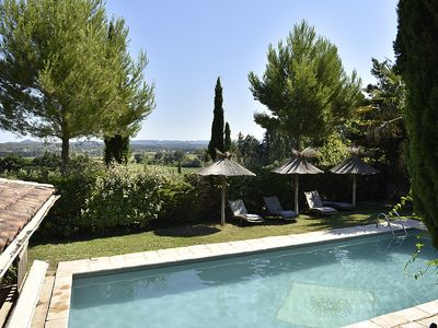 Photo for Le Mazet des Oliviers. The house is located between Arles, the Alpilles mountains and the Camargue region, an oasis of freshness in the heart of the Provence