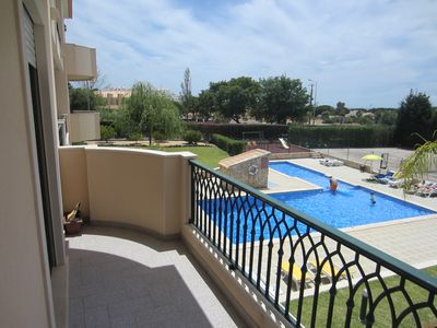Photo for Apartment T2 -Closed Condominium in Agua eyes with pool, garden and tennis