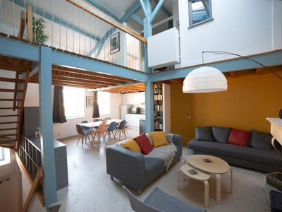 Photo for House La Rochelle near the Vieux Port for 6 to 9 people, overlooking the canal