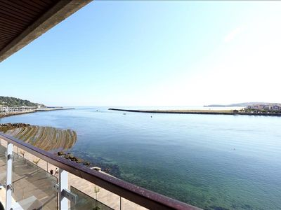 Photo for CAROLINA: New apartment with spectacular sea views in the heart of Hondarribia