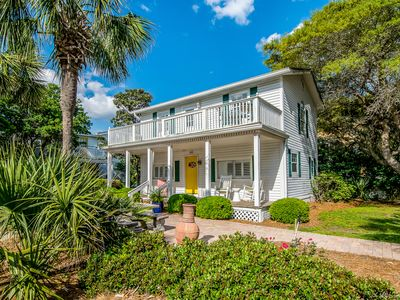 Photo for Cozy Inlet Beach Cottage; Steps from GULF/Rosemary; Gulf Views; Pet Friendly!