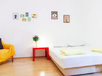 Studio for two in downtown