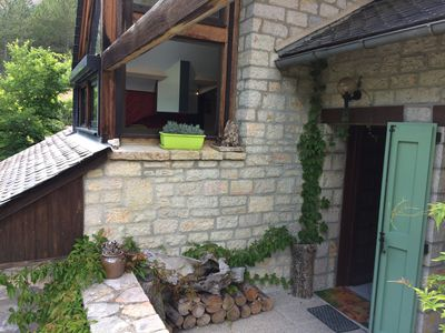 Photo for Charming 3 * cottage, Les Lavandes, in the heart of the Gorges du Tarn