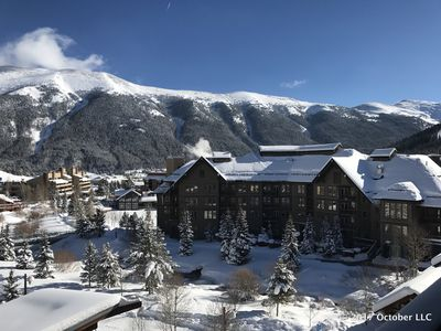 Photo for Passage Point, Center Village, 2 BR/2BA Condo, Mtn Views, 3 Minute Walk to Lift