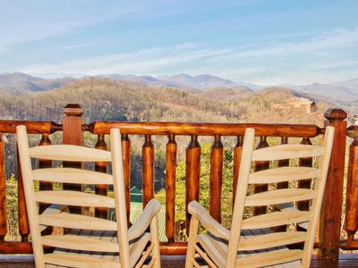 Photo for Remarkable Mountain Views on top of Pine Mountain, Newly Renovated & Furnished