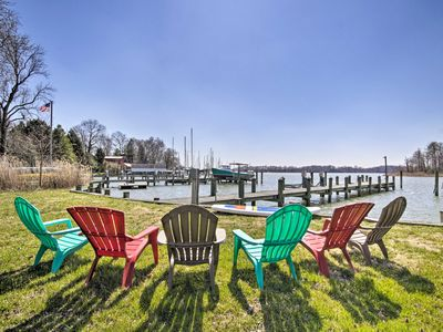Photo for NEW! Waterfront Home Near Annapolis